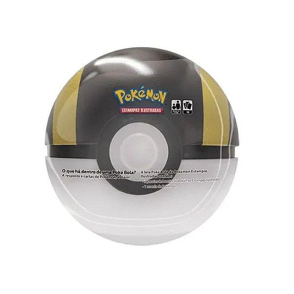 Lata Pokémon Poké Bola Ultra Bola