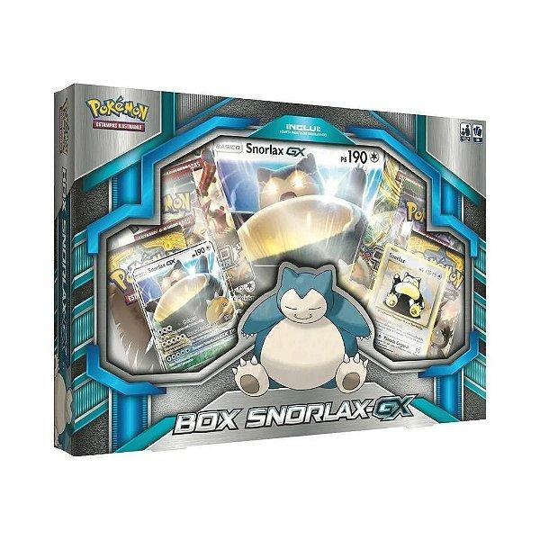 Pokémon Estampas Ilustradas Box Snorlax-gx