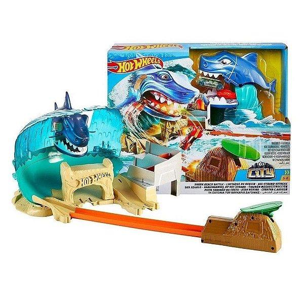 Hot Wheels Pista Ataque Tubarão