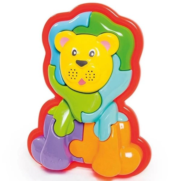 Animal Puzzle 3d Leao