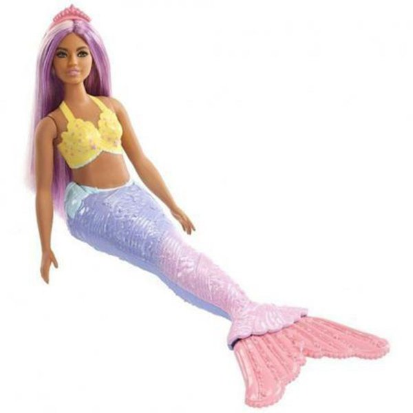 Barbie Dreamtopia Sereia Morena Curvy Mattel