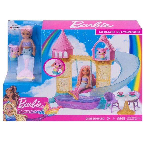 Boneca Barbie - Barbie Dreamtopia - Parque Aquático das Sereias