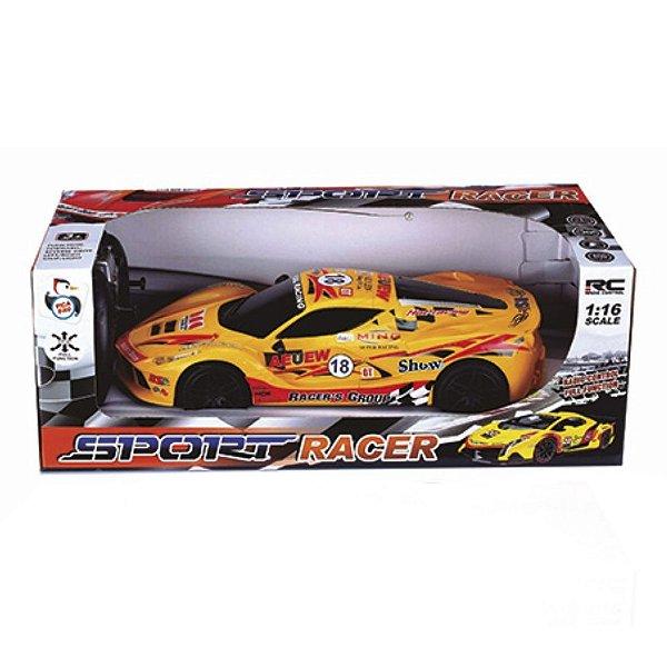 Carro com Controle Remoto Sport Racer