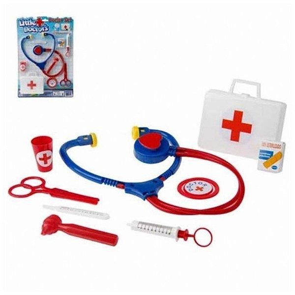 Little Doctor's Kit Médico De Brinquedo Infantil Pica Pau