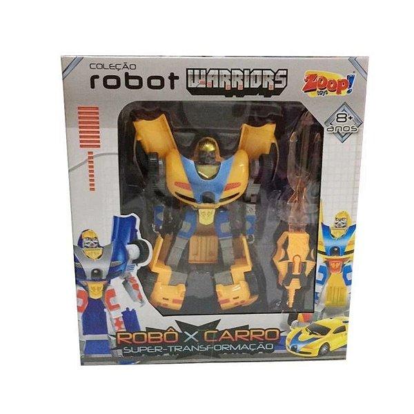 Robot Warriors Amarelo - Zoop Toys