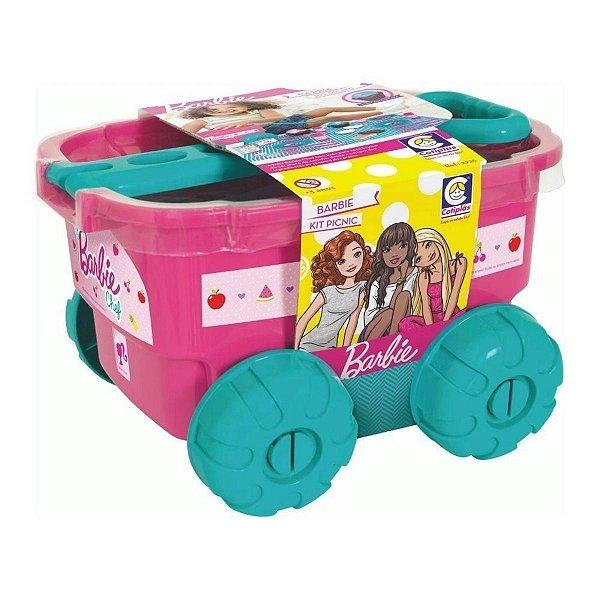 Kit Picnic Da Barbie Com Acessórios E Carrinho - Cotiplás