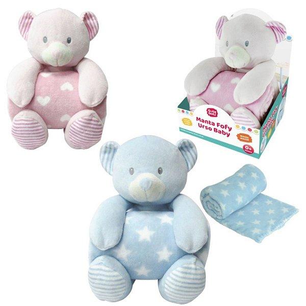 Manta Fofy Urso Baby