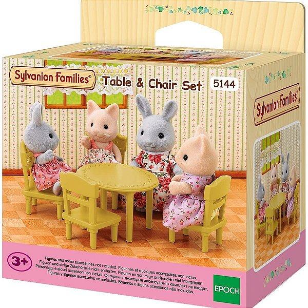 Conjunto de Mesa e Cadeira - Sylvanian Families
