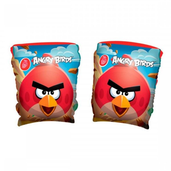 Boia De Braço Inflável Infantil Bebe Angry Birds