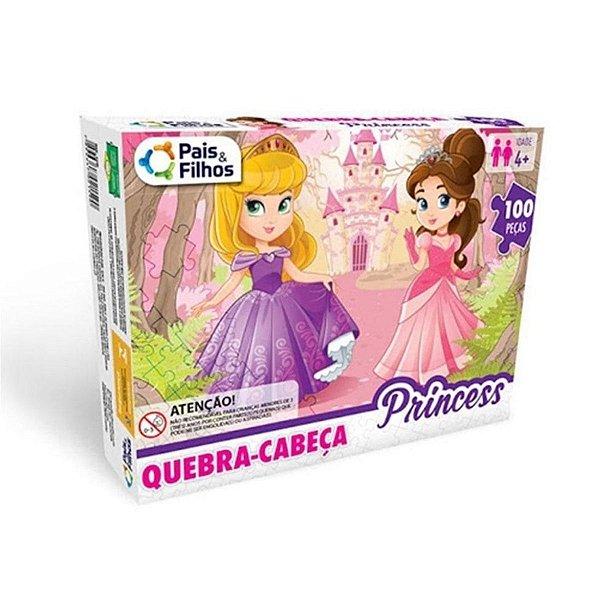 Quebra Cabeça Princess 100 Peças