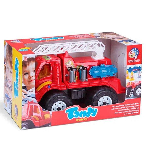 Carrinho Tandy - Caminhão de Bombeiros - Cardoso