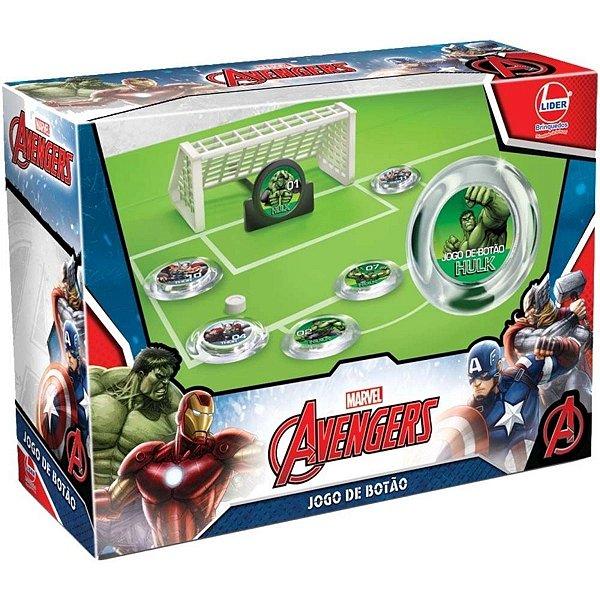 Jogo De Botão Avengers - Líder