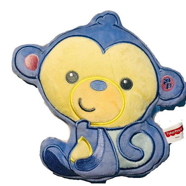 Almofada Decorativa Meu Amiguinho Fisher-Price- Macaco