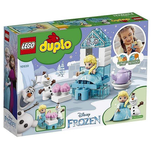 Lego Duplo Disney Frozen com A Festa do Chá da Elsa e do Olaf