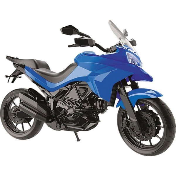 Moto Multi Motors - Pneus Borracha - Roma - Azul