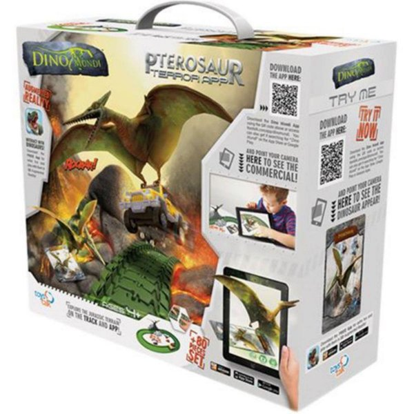 Brinquedo Dino-Mundi Ataque Pterossauro 80 Peças - Fun