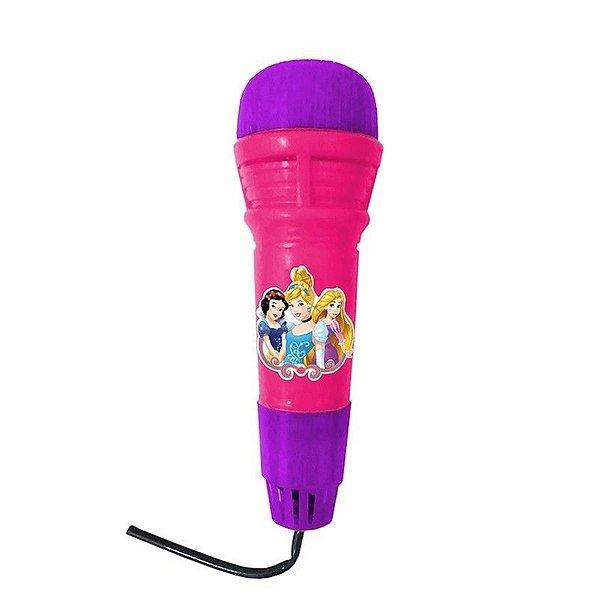 Microfone Infantil Com Eco Princesas - Etitoys