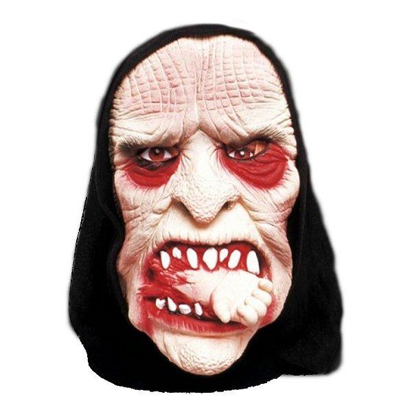 Máscara Bruxa Canibal com Capuz