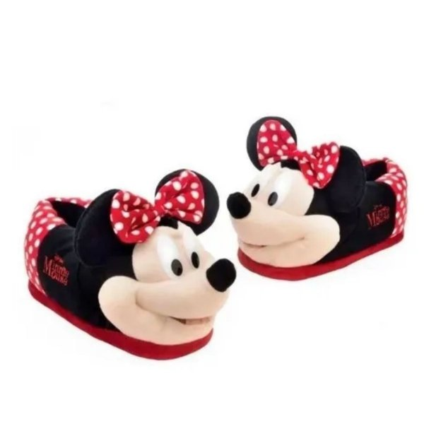 Pantufa 3D Minnie Número 28/30