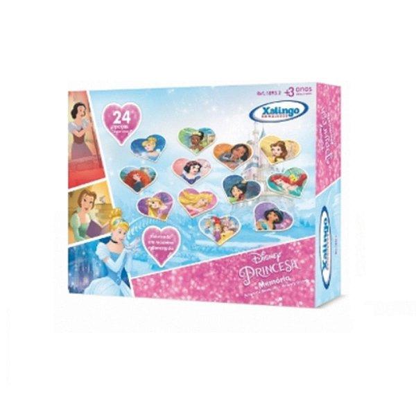 Jogo da Memória Princesa Disney - Xalingo