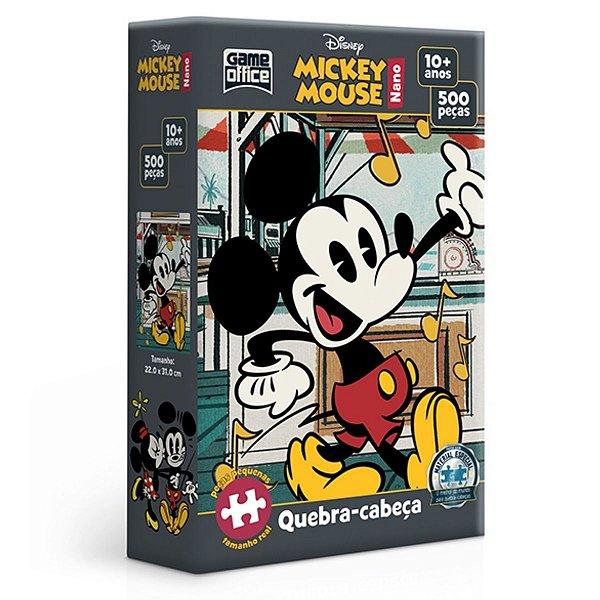 Quebra-Cabeça 500 Peças Nano - Mickey
