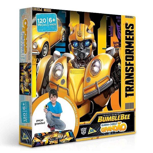 Quebra Cabeça Grandão Transformers 120 Peças - Toyster