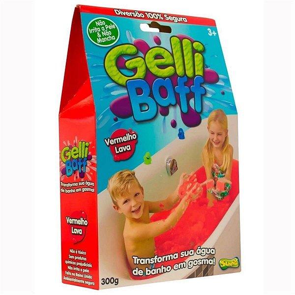 Slime para Banho - 300g - Gosma Pegajosa - Gelli Baff  Sunny