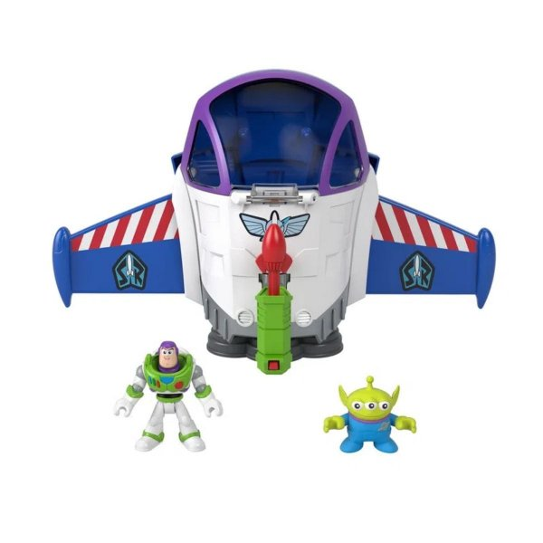 Imaginext - Toy Story - Nave Espacial Buzz Lightyear