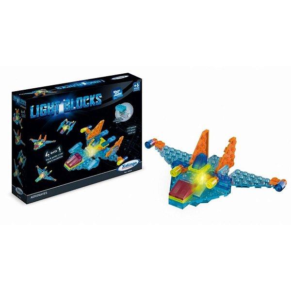Light Blocks Aeronaves 4 em 1 - Xalingo