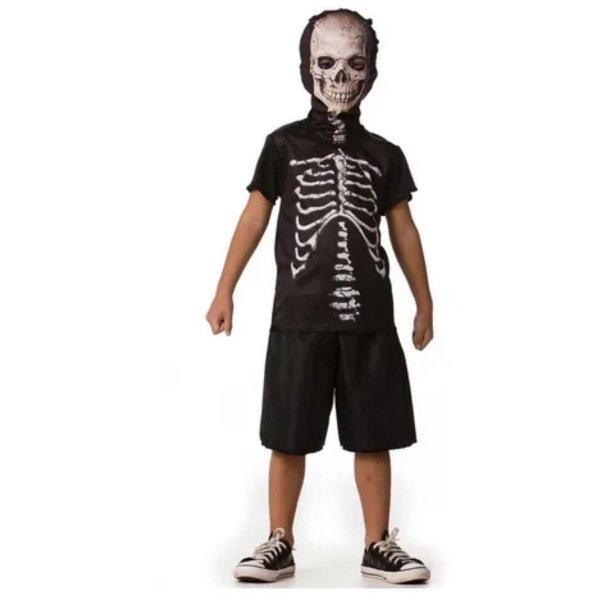 Fantasia Halloween Esqueleto - Fantasia Super