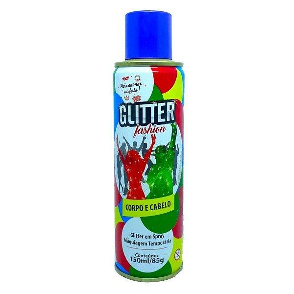 Glitter em Spray Corpo e Cabelo