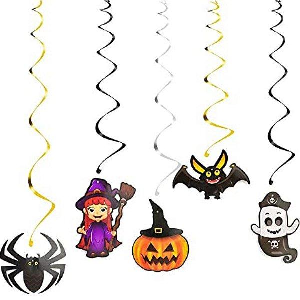 Decoração Halloween De Teto 6 Peças