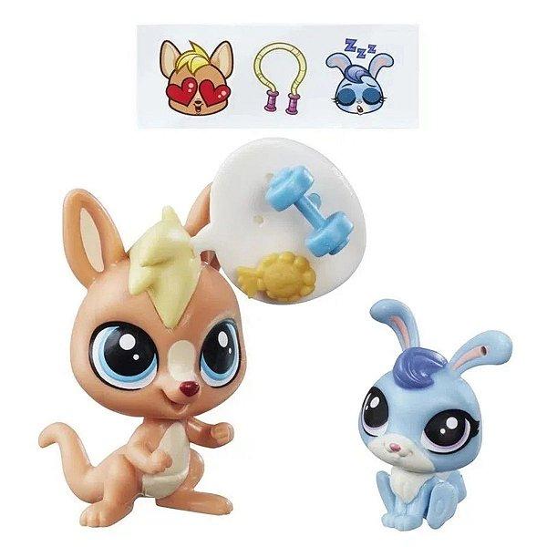Littlest Pet Shop Vigor Springley & Hoppity Blue - Hasbro