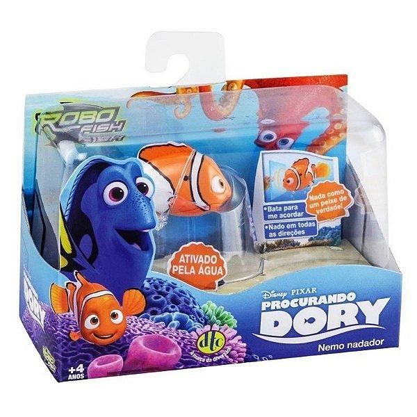 Robo Fish Procurando Dory - Nemo Nadador - Dtc