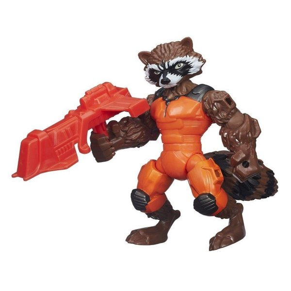 Boneco Super Hero Mashers Rocket Raccoon - Hasbro