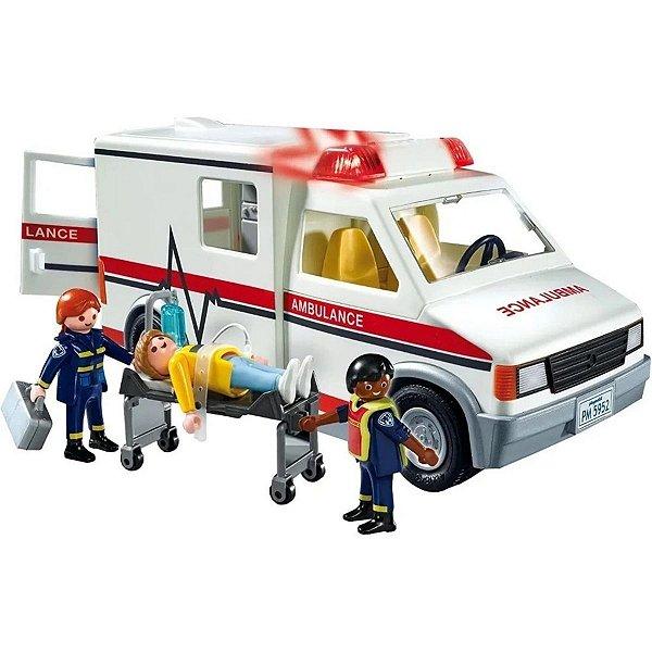 Playmobil Ambulância De Resgate City Action