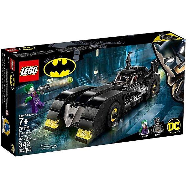 Batmóvel Perseguição do Coringa 342 Peças - Lego