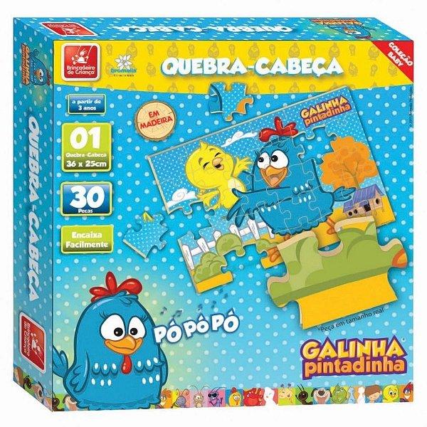 Quebra Cabeça Galinha Pintadinha - Brincadeira de Criança