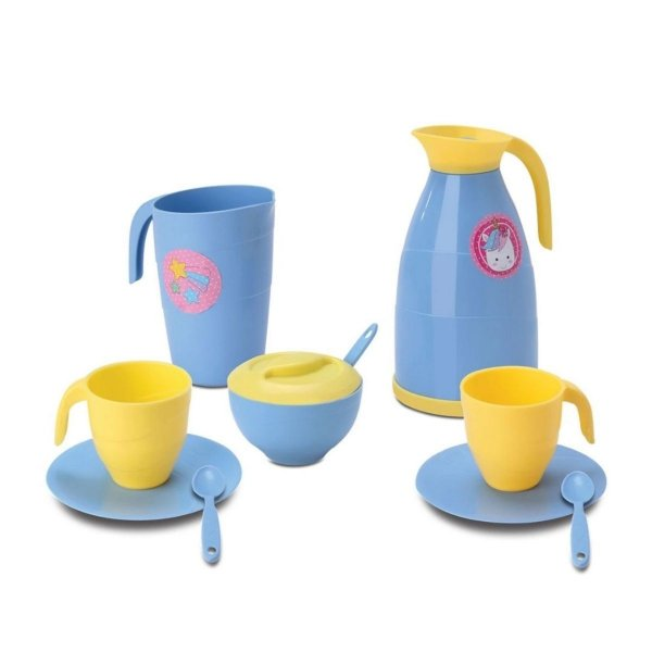 Kit Hora Do Café - Unicórnio - Samba Toys