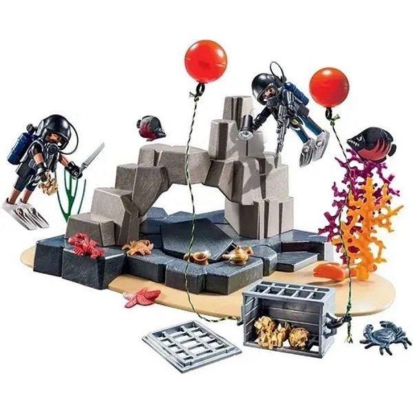 Playmobil Super Set Unidade De Merulho 70011