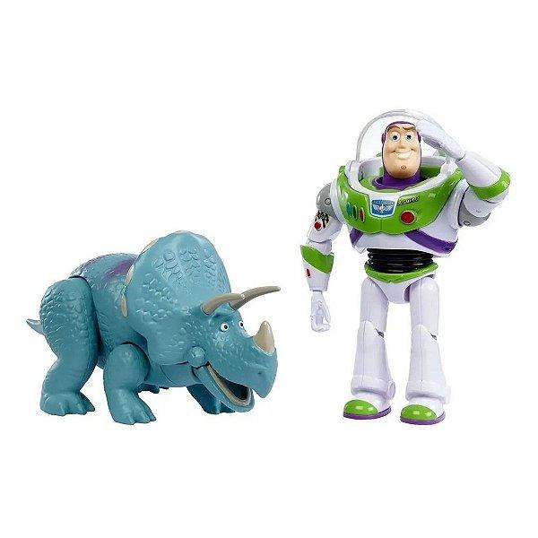 Boneco Toy Story 4 - Buzz Lightyear & Trixie - Mattel