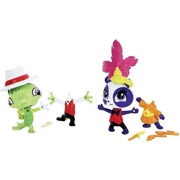 Conjunto Littlest Pet Shop Amigos Fashions - Penny E Vinnie - Hasbro