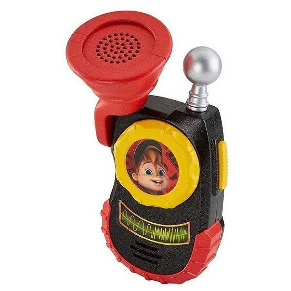 Modificador de Voz - Alvin e Os Esquilos - Mattel
