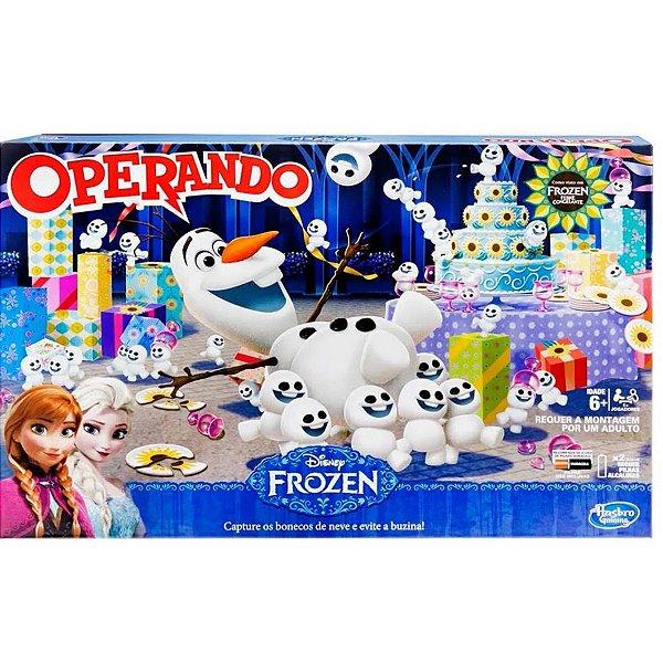 Jogo Operando Frozen - Hasbro
