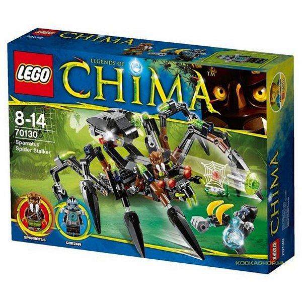 Sparratus' Aranha Stalker 292 PCS - Lego Chima