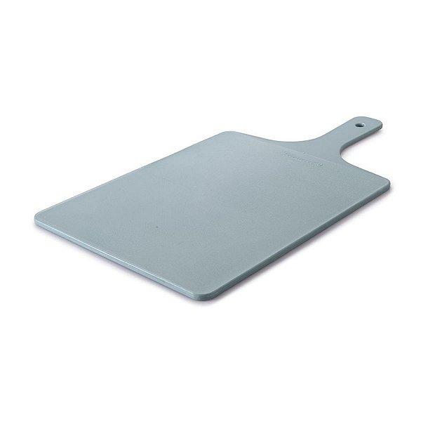 Tábua De Plástico Para Corte Antibacteriana Com Cabo Pequeno Edu Guedes
