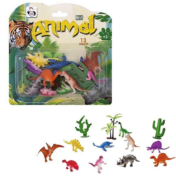Kit Animal Dinossauro  - Pica Pau