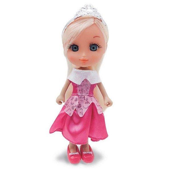 Boneca Mini Princesas Mágicas Rosa Com Bichinho - Zoop Toys