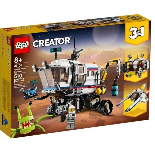 Lego Creator - Carro Lunar Explorador - 31107