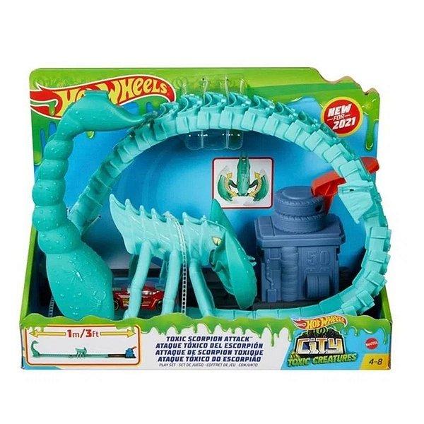 Hot  Wheels Ataque Tóxico Do Escorpião - Mattel